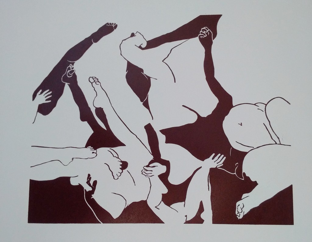 linogravure 05 2015 50 X 40